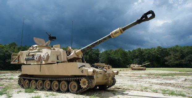 char M109A6, Canon automoteur de 155 millimètres
