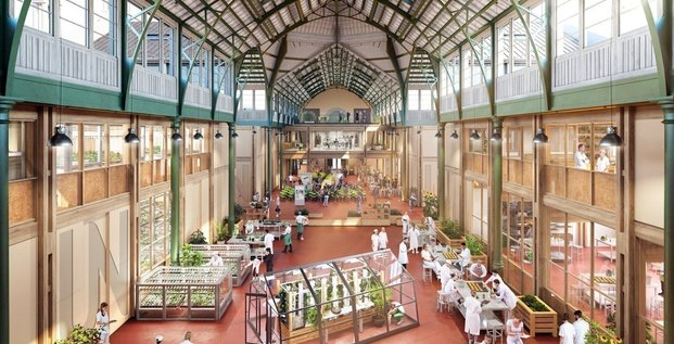 Le Palais Rameau à Lille accueillera les expérimentations agricoles de l'école Junia.