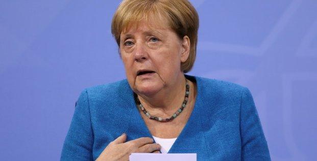 Allemagne: un fonds d'aide de 30 milliards d'euros apres les inondations, annonce merkel