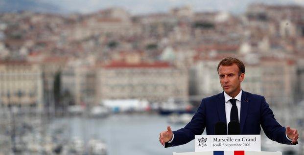 Macron annonce un plan d'ampleur pour marseille, ville monde