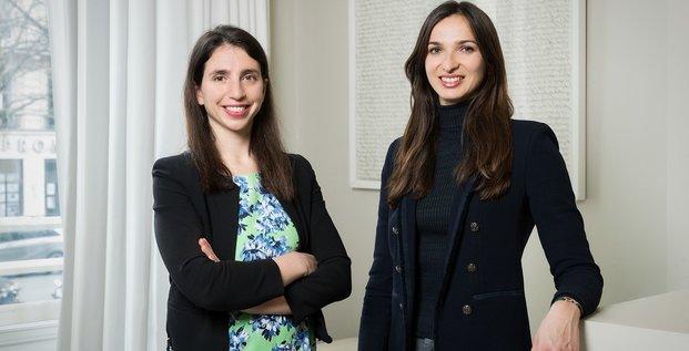 Elina Berrebi et Alice Albizzati, cofondatrices de Revaia