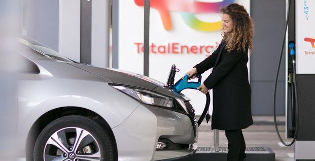 Borne électrique TotalEnergies