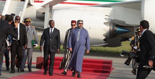 Mohammed 6 Ouattara Maroc Côte d'Ivoir