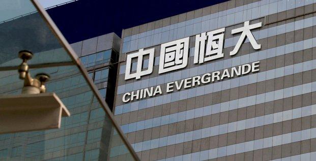 La chine informe les banques qu'evergrande ne remboursera pas des interets de prets le 20 septembre, rapporte bloomberg