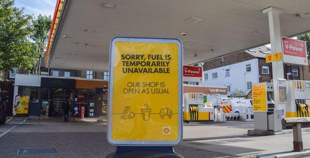Station d'essence Londres