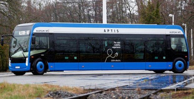Alstom choisit la batterie du francais forsee power pour ses bus