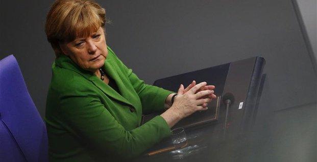 Angela Merkel demande des mesures crédibles à l'Ukraine