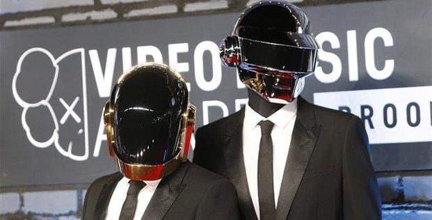 Daft Punk nommé pour le meilleur album de l'année aux Grammy