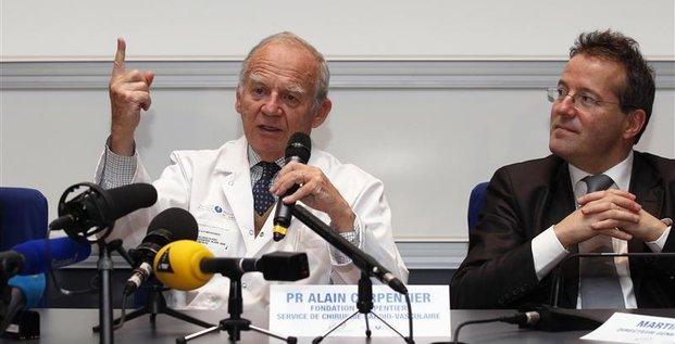 Le coeur de Carmat pourrait aider 10.000 malades en France