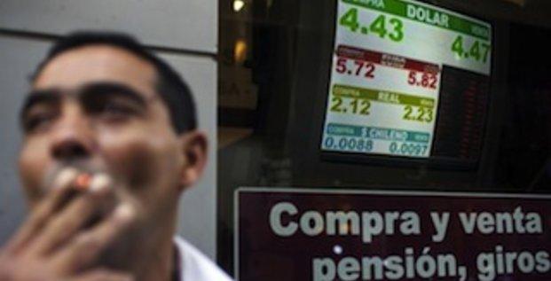 Explosion du marché noir des devises en Argentine