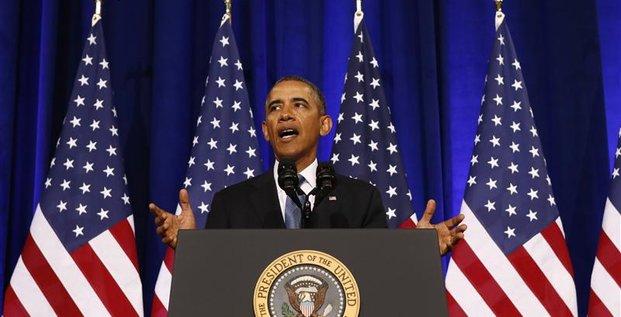 Barack Obama promet que la NSA n'espionnera plus Angela Merkel