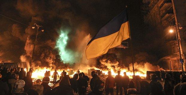 manifestants Ukraine