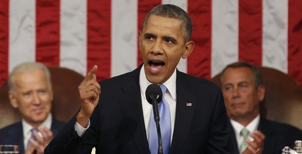 Offensif, Obama veut reprendre la main, avec ou sans le Congrès