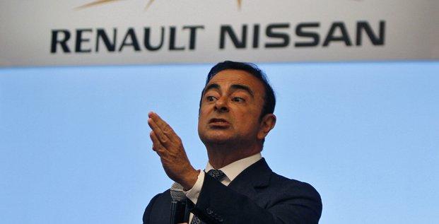 Carlos Ghosn, président de l'alliance Renault-Nissan, en juillet 2013.