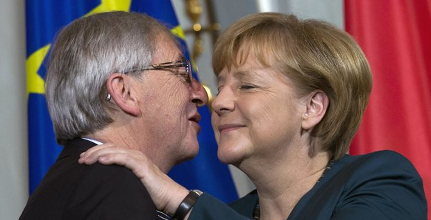 Juncker Merkel