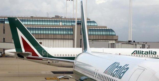 Alitalia s'est assuré 165 millions d'euros de prêts bancaires