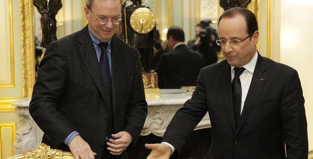 Hollande Schmidt Google