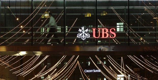 La banque UBS à Zurich, le 19 décembre 2013.