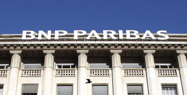Le siège de la BNP Paribas à Paris, le 4 novembre 2011.
