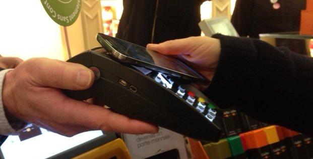 NFC Orange Cash sans contact