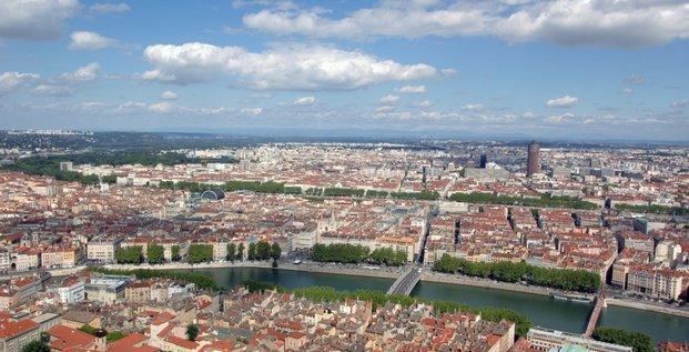 Lyon vue de Fourvière