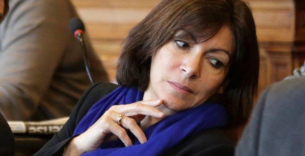 Anne Hidalgo, candidate socialiste à la mairie de Paris, le 10 février 2014