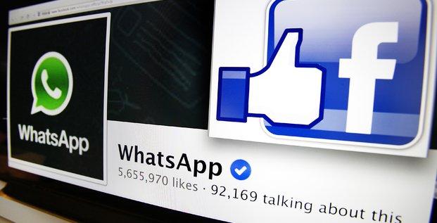 Facebook rachète WhatsApp, le 20 février 2014.