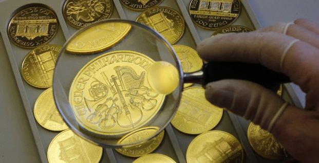 Pièces de monnaie en or