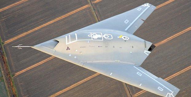 drone de combat Neuron Dassault Aviation