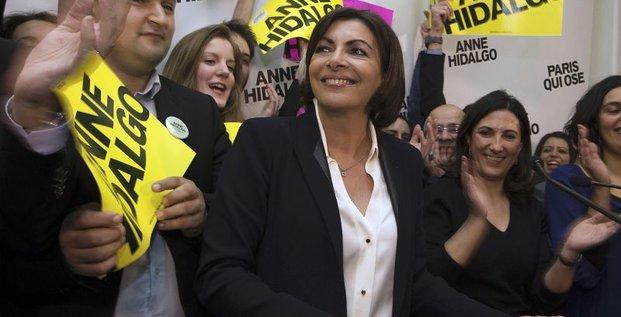 A Paris, un accord Verts-PS pour soutenir Anne Hidalgo
