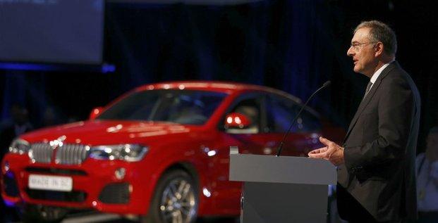 BMW veut augmenter de 50% ses capacités de production aux USA