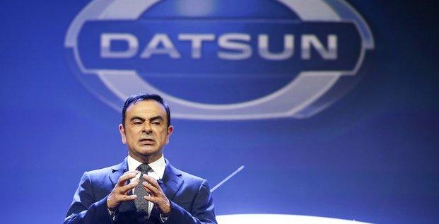 Carlos Ghosn est optimiste pour la Russie où il relance Datsun