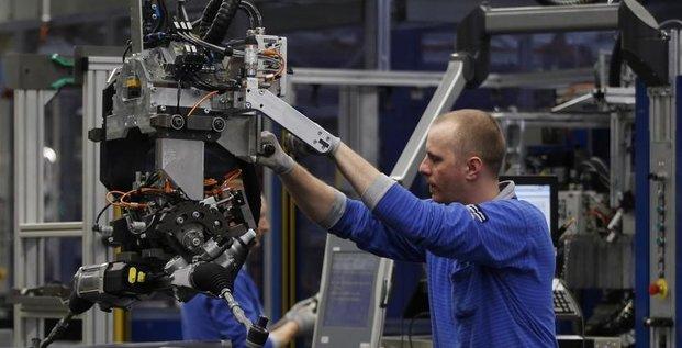 Production industrielle dans la zone euro +0,2% en février