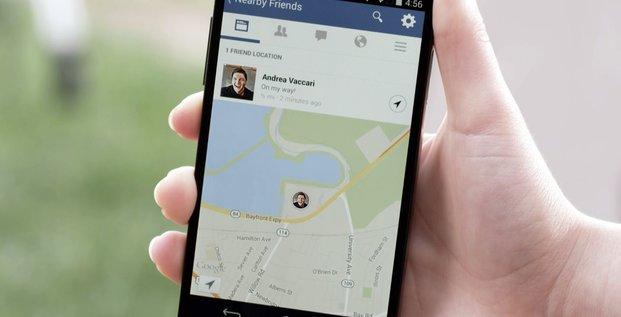 Facebook Amis proximité