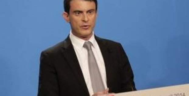 Défiance des Français vis-à-vis de Valls sur l'économie