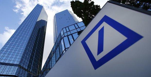 Deutsche Bank présente des résultats en baisse de 30%