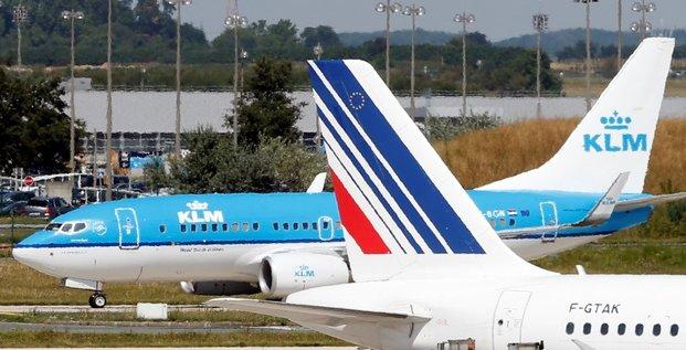 Air France-KLM réduit ses pertes au 1er trimestre