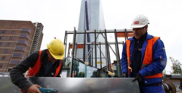 Hausse salariale de 5,7% sur 2 ans dans le BTP en Allemagne