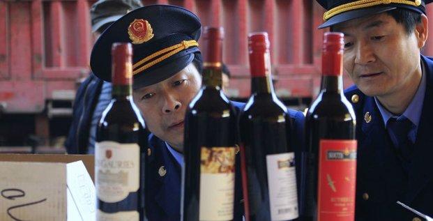 Contrebande vin