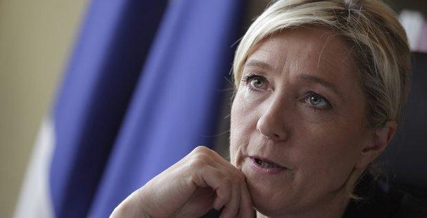 Marine Le Pen jette les accords de Schengen à la corbeille
