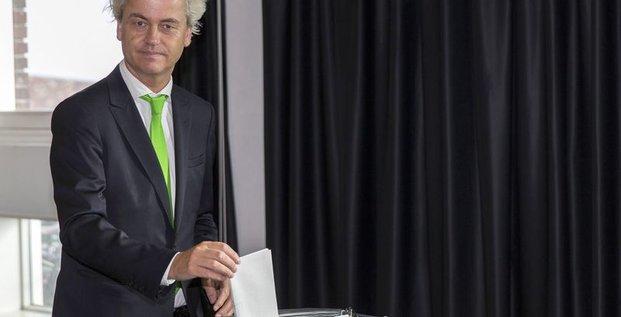 Le PVV de Wilders serait troisième aux européennes aux Pays-Bas