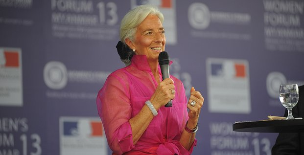 Christine Lagarde au Women's Forum