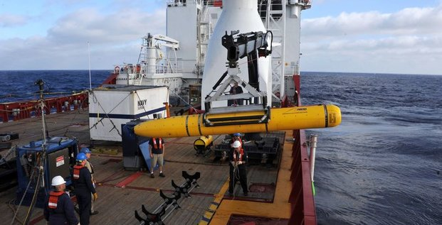 Pas de trace du vol MH370 dans la zone des signaux acoustiques