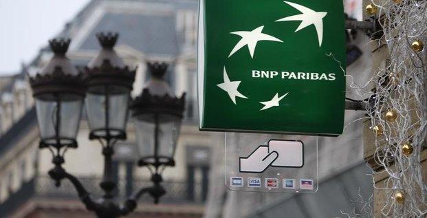BNP plombé en Bourse par une possible amende record aux USA