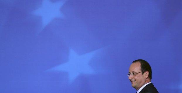 Record d'impopularité pour François Hollande, selon TNS-Sofres