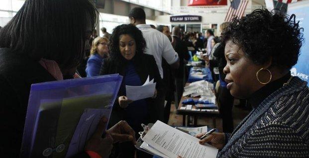 Rythme des créations d'emploi encore soutenu en mai aux Etats-Unis