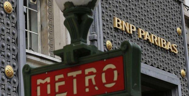 BNP devra régler 8,834 milliards de dollars d'amende aux USA