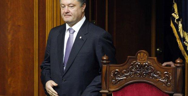Petro Porochenko annonce la fin du cessez-le-feu en Ukraine