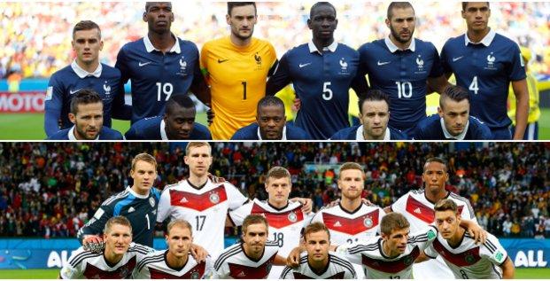 France Allemagne Coupe du monde montage