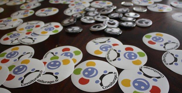 Badges Coivoiturage.fr via FLICKR